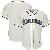 Majestic Men's Replica Seattle Mariners Cool Base Home White Jersey
