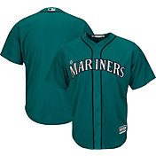 Majestic Men's Replica Seattle Mariners Cool Base Alternate Teal Jersey
