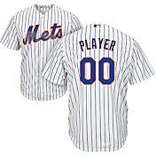 Majestic Men's Full Roster Cool Base Replica New York Mets Alternate Home White Jersey