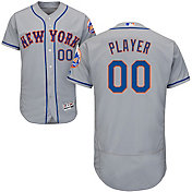 Majestic Men's Full Roster Authentic New York Mets Flex Base Road Grey On-Field Jersey