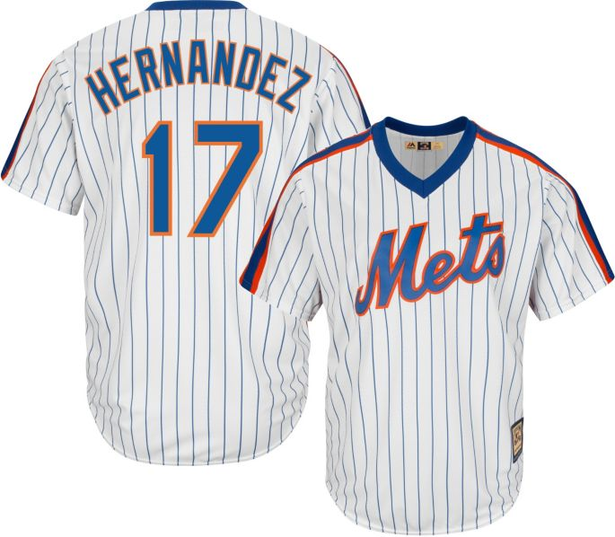 low priced 13d97 e0c00 Majestic Men's Replica New York Mets Keith Hernandez Cool Base White  Cooperstown Jersey