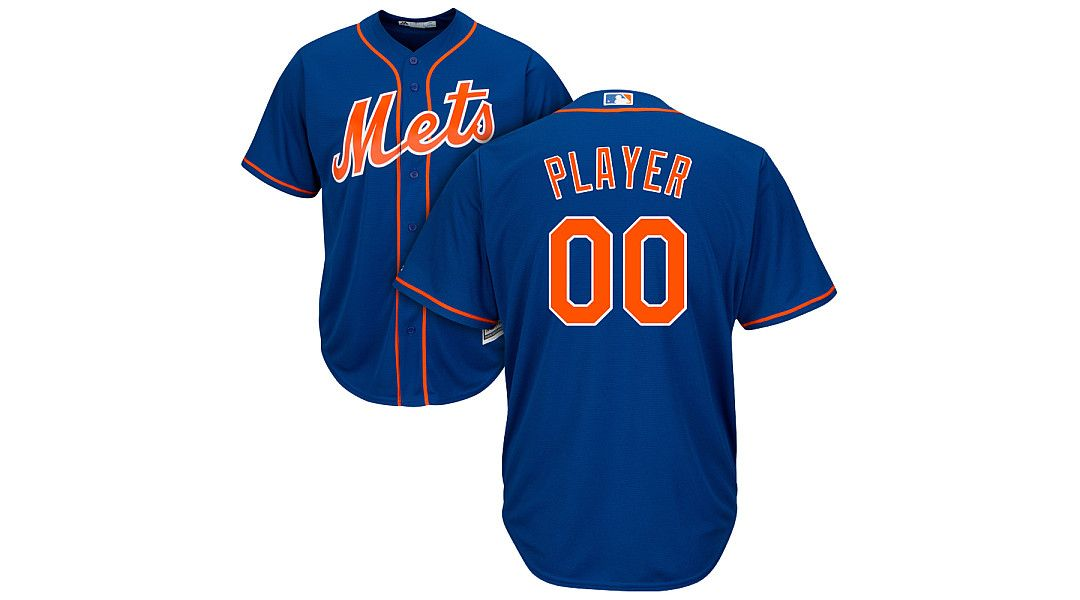 pretty nice 8175d 43413 Majestic Men's Full Roster Cool Base Replica New York Mets Alternate Home  Royal Jersey