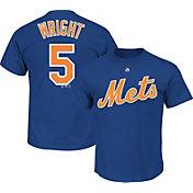 Majestic Triple Peak Men's New York Mets David Wright Royal T-Shirt
