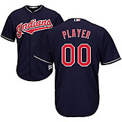 Majestic Men's Full Roster Cool Base Replica Cleveland Indians Alternate Navy Jersey