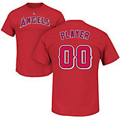 Majestic Men's Full Roster Los Angeles Angels Red T-Shirt
