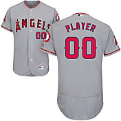 Majestic Men's Full Roster Authentic Los Angeles Angels Flex Base Road Grey On-Field Jersey