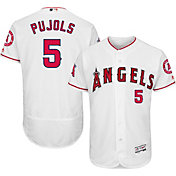 f785acfd3bb Product Image · Majestic Men s Authentic Los Angeles Angels Albert Pujols   5 Home White Flex Base On-