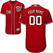 41f9ab609e6 Product Image · Majestic Men s Custom Authentic Washington Nationals Flex  Base Alternate Red On-Field Jersey