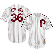 Majestic Men's Replica Philadelphia Phillies Robin Roberts Cool Base White Cooperstown Jersey
