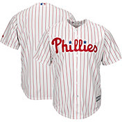Majestic Men's Replica Philadelphia Phillies Cool Base Home White Jersey