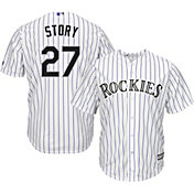 6828aff4037 Product Image · Majestic Men s Replica Colorado Rockies Trevor Story  11  Cool Base Home White Jersey
