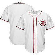 Majestic Men's Replica Cincinnati Reds Cool Base Home White Jersey