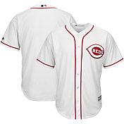 Majestic Men's Replica Cincinnati Reds Cool Base Home White Jersey