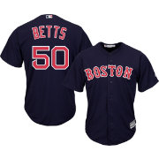 Majestic Men's Replica Boston Red Sox Mookie Betts #50 Cool Base Alternate Navy Jersey