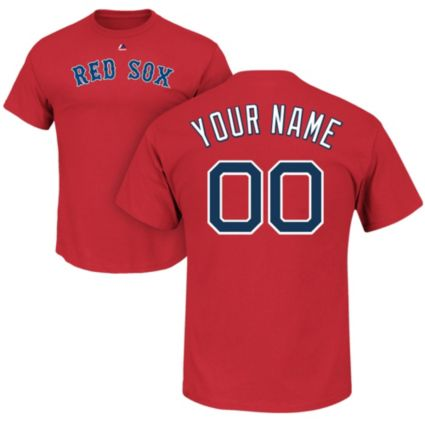 5e270b40 Majestic Men's Custom Boston Red Sox Red T-Shirt | DICK'S Sporting Goods