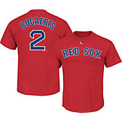 Majestic Men's Boston Red Sox Xander Bogaerts #2 Red T-Shirt
