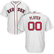 Majestic Men's Full Roster Cool Base Replica Boston Red Sox Home White Jersey