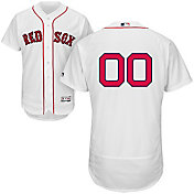 Majestic Men's Full Roster Authentic Boston Red Sox Flex Base Alternate Home White On-Field Jersey