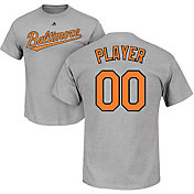 Majestic Men's Full Roster Baltimore Orioles Grey T-Shirt