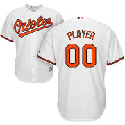 Majestic Men's Full Roster Cool Base Replica Baltimore Orioles Home White Jersey