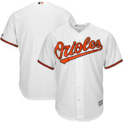 Majestic Men's Replica Baltimore Orioles Cool Base Home White Jersey
