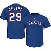 Majestic Men's Texas Rangers Adrian Beltre #29 Royal T-Shirt
