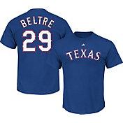 Majestic Men's Texas Rangers Adrian Beltre #29 Royal T-Shirt