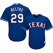 Majestic Men's Replica Texas Rangers Adrian Beltre #29 Cool Base Alternate Royal Jersey