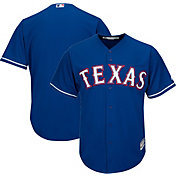 Majestic Men's Replica Texas Rangers Cool Base Alternate Royal Jersey
