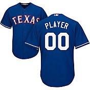Majestic Men's Full Roster Cool Base Replica Texas Rangers Alternate Royal Jersey