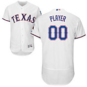 Majestic Men's Full Roster Authentic Texas Rangers Flex Base Home White On-Field Jersey