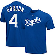 Majestic Triple Peak Men's Kansas City Royals Alex Gordon Royal T-Shirt