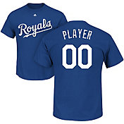 Majestic Men's Full Roster Kansas City Royals Royal T-Shirt