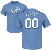 detailing 7bf88 f240b Majestic Men s Full Roster Kansas City Royals Light Blue T-Shirt