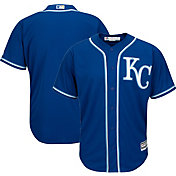 Majestic Men's Replica Kansas City Royals Cool Base Alternate Royal Jersey