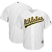 Majestic Men's Replica Oakland Athletics Cool Base Home White Jersey