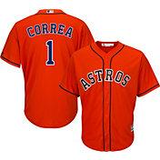 8ec17f641 Product Image · Majestic Men s Replica Houston Astros Carlos Correa  1 Cool  Base Alternate Orange Jersey