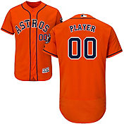Majestic Men's Full Roster Authentic Houston Astros Flex Base Alternate Orange On-Field Jersey