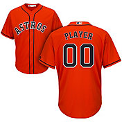 Majestic Men's Full Roster Cool Base Replica Houston Astros Alternate Orange Jersey