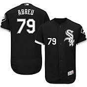 Majestic Men's Authentic Chicago White Sox Jose Abreu #79 Alternate Black Flex Base On-Field Jersey