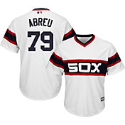 Majestic Men's Replica Chicago White Sox Jose Abreu #79 Cool Base 1983 Alternate White Jersey