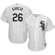Majestic Men's Replica Chicago White Sox Avisail Garcia #26 Cool Base Home White Jersey