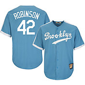 5d7748e28 Product Image · Majestic Men s Replica Brooklyn Dodgers Jackie Robinson  Cool Base Light Blue Cooperstown Jersey