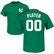 Majestic Men's Full Roster New York Yankees Green T-Shirt