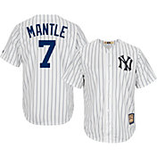 17ec9138152 Product Image · Majestic Men's Replica New York Yankees Mickey Mantle Cool  Base White Cooperstown Jersey