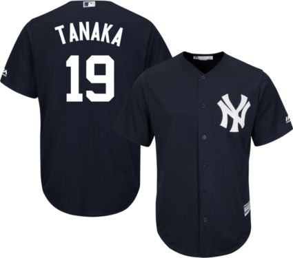 Majestic Men s Replica New York Yankees Masahiro Tanaka  19 Cool ... fd72bf79cbf