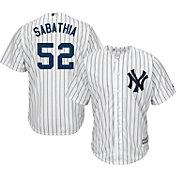 Product Image · Majestic Men s Replica New York Yankees CC Sabathia  52  Cool Base Home White Jersey d4dc28bd180