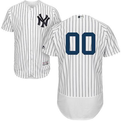 Majestic Men s Custom Authentic New York Yankees Flex Base Home ... 4c0edc9405b3
