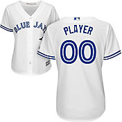 Majestic Women's Full Roster Cool Base Replica Toronto Blue Jays Home White Jersey