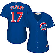 Majestic Women's Replica Chicago Cubs Kris Bryant #17 Cool Base Alternate Royal Jersey